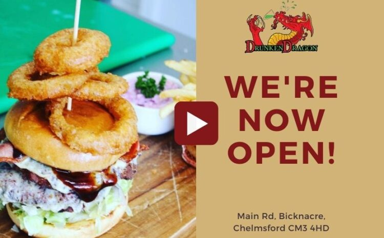 We are officially open